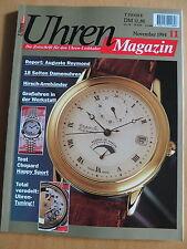 Uhren-Magazin Nr. 11 1994 - Uhren Zeitschrift, Uhrenheft, Magazin