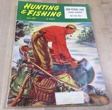 May 1953 Hunting & Fishing Magazine A K Bilder Cover Artist  >