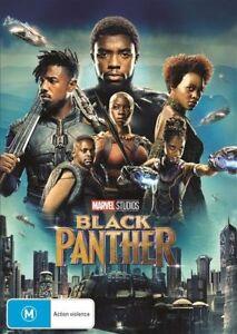 New Sealed BLACK PANTHER Australian R4 DVD Marvel FREE POSTAGE