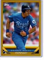 George Brett 2019 Topps Archives 5x7 Gold #210 /10 Royals