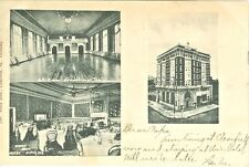 Clearfield PA The Ball Room and Dining Room of the Hotel Dimeling 1907