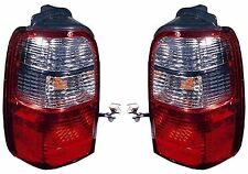 2001 2002 TOYOTA 4RUNNER TAIL LAMP LIGHT PAIR LEFT AND RIGHT SET
