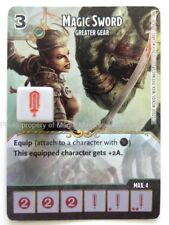Battle for Faerun MAGIC SWORD Greater Gear #94 D&D Dice Masters Dungeons Dragons