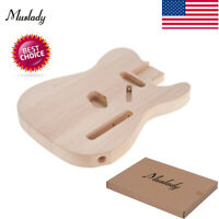 Muslady TL-01T DIY Electric Guitar Body Basswood Material Unfinished Bodies I7U2