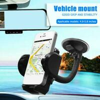 Car Phone Mount Stand 360° Rotatable Suction Holder for Huawei P30/P20/Mate 20