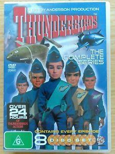 Thunderbirds The Complete Series DVD Boxset 1-8 8 Disc Set VGC Freepost TRACKED