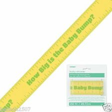 BABY SHOWER TUMMY BUMP MEASURE TAPE GAME BABY OCCASIONS UNIQUE