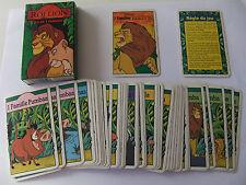 """Jeu de cartes des 7 familles """"Le ROI LION"""" Disney Ducale France Cartes complet"""