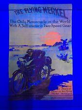 Vintage NOS The Flying Merkel Blacklight Poster Mini 11x17 1972 Artko M-AD 104