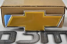 Chevrolet Tahoe Suburban Gold Bow Tie Rear Liftgate Emblem OEM new 22830015