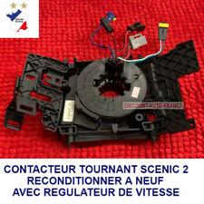 Contacteur tournant Airbag Renault SCÉNIC 2 Reconditioné à neuf avec regulateur