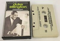 Duke Ellington ~ Monologue ~ CBS Special Products, BT 13293, Cassette, 1982, US