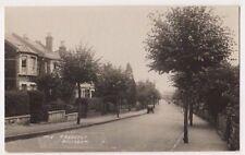 The Crescent Belmont, Surrey RP Postcard B751