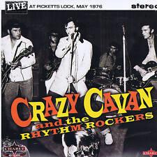 "CRAZY CAVAN - LIVE AT PICKETTS LOCK (2 x 10"" VINYL LPs Double-Pack) ROCKABILLY"