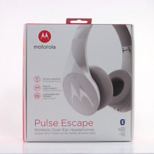 Motorola Pulse Escape Over-Ear Wireless Headphones - White - Brand New Sealed
