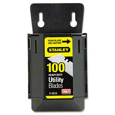 Stanley Wall Mount Utility Knife Blade Dispenser W/blades, 100/pack