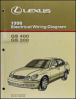 2001 Lexus LS 430 Wiring Diagram Manual LS430 Original ...