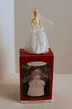 Hallmark WEDDING DAY BARBIE Keepsake Ornament...Fourth in Series...1997...NIB
