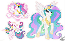 My Little Pony Princess Celestia set of 3 Removable Wall Stickers Decals