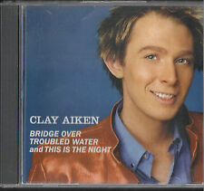 Bridge Over Troubled Water/This Is The Night [Single] [ECD] by Clay Aiken...