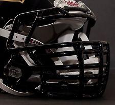 *CUSTOM* BALTIMORE RAVENS Riddell SPEED Football Helmet Facemask - BLACK