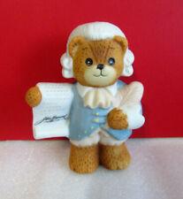 Lucy & Me Teddy Bears John Hancock Enesco Figurine
