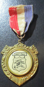 Massachusetts Veterans Badge: FIRST CALL MINUTEMEN OF '61