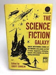 THE SCIENCE FICTION GALAXY Anthology PERMA 1ST Sci-Fi BRADBURY Sturgeon HARDBACK