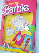 ABITO BARBIE CALIFORNIA MATTEL 4467 VINTAGE 1987