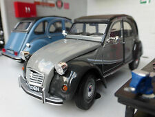 G LGB 1:24 Scale Citroen 2CV Charleston Welly Diecast V Detailed Model Grey
