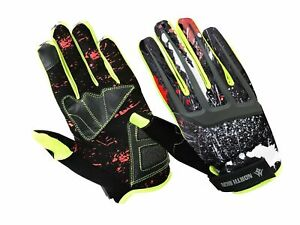 Gloves Touch Screen Full Finger Cycling BMX for Boys Girls Safety Gloves Mittens