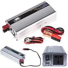 1500W Auto Inverter Car DC 12V to AC 220V Modified Power Converter Sine Wave 5H