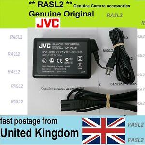 Genuine Original JVC AC POWER Adapter AP-V14 Everio AP-V14e 15 16 17 18 19 a e u