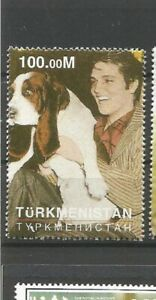 Elvis Presley The King of Rock 'n' Roll Turkmenistan Stamps Sellos Timbres