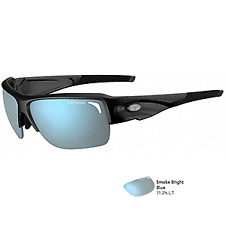 1ecd561078b2 Tifosi 1170400281 Elder SL Gloss Black Sunglasses - Smoke Bright Blue