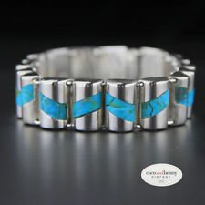 Bracelet Turquoise Sterling Silver Vintage & Antique Jewellery