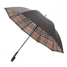 New Burberry Umbrella Check Black Mens Ladies Total length 67.5cm from Japan