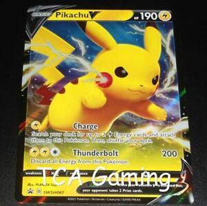 INK DOT Pikachu V SWSH061 ERROR/MISPRINT Promo HOLO Pokemon Card