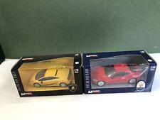 Mondo Motors Lamborghini Gallardo Maserati Gran Turismo 1:43 Scale Damaged Boxes