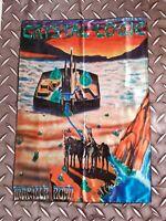 MANILLA ROAD - Crystal Logic FLAG Heavy thrash death METAL cloth poster