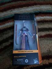 "Hasbro Star Wars The Black Series Asajj Ventress 6"" Action Figure The Clone Wars"
