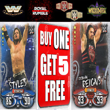 WWE SLAM ATTAX LIVE 2018 RAW 25, RAW & SMACKDOWN SUPERSTARS, NXT, 205 LIVE