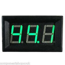 "3 Digit LED DC Current Display Amp Meter 0.56""  0-100V 0-10A RC Various Colours"