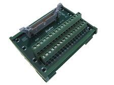 IDC34 34-Pin Connector Signals Breakout Module Screw terminals DIN Rail Mount