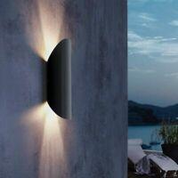 Außenwandleuchte LED Up Down Light außen Wandlampe Fassade modern anthrazit grau