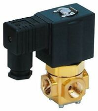 SMC Solenoid Valve VX3224-02F-JDR1, 3 port , Common, 230 V ac, 1/4in