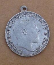 alte Gedenk - Medaille von 1908 -  König Eduard VII von England -  (AC16)