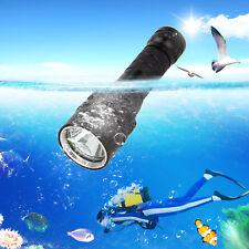 5000Lm XM-L2 LED Buceo Linterna Submarinismo prueba agua Antorcha 18650 Luz
