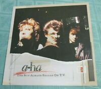 "A-HA (12"" SINGLE) THE SUN ALWAYS SHINES ON T.V. (EXT+INSTR) [1985,GERMAN 1ST] EX"