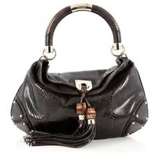 Gucci Indy Brown Python Bag Medium Just Gorgeous!!